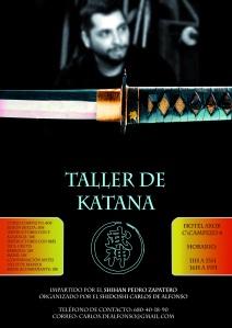Taller de Katana 2012 - Imparte Shihan Pedro Zapatero