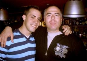 Ruben y su maetro Javi