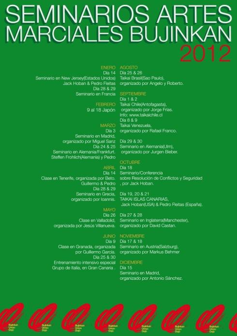 Programación Un Ryu 2012