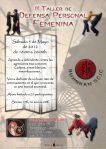 II Taller de defensa personal femenina, impartido en Torrejón de Ardoz por el Shidoshi Ho Juan Miguel