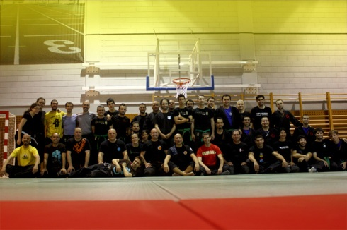 Grupo de participantes en el seminario de Granada 2012