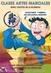 Clases de artes marciales Bujinkan infantiles extraescolares en el COLEGIO EDUCREA EL MIRADOR