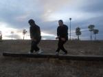 Entrenamiento en Torrejón de Arzdoz - Andar sigiloso