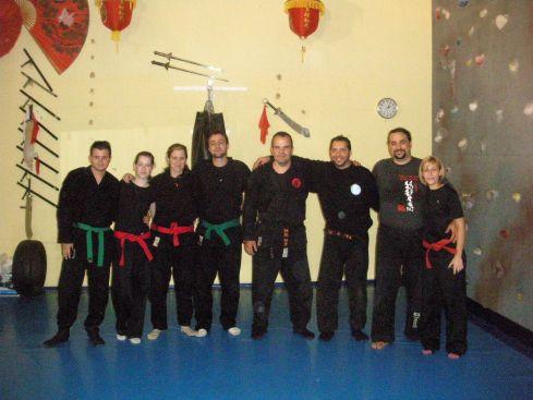 Entrenamiento del Shihan Pedro Zapatero, con compañeros de Uma Ryu en Azuqueca de Henares
