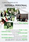 Curso de defensa personal femenina en Corella, días 24, 25, 26 y 27 de febrero de 2014